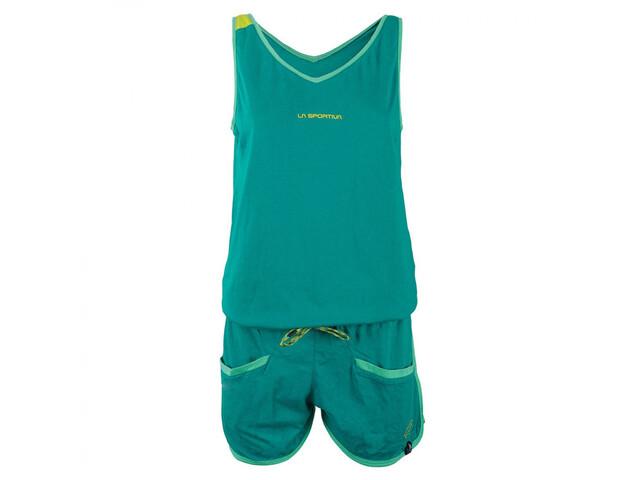 La Sportiva W's Flash Jumper Emerald/Sulphur